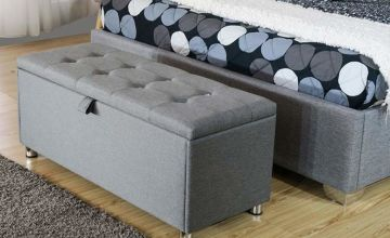 From £49 (from Big Furniture Warehouse) for a Paris ottoman - choose from two sizes