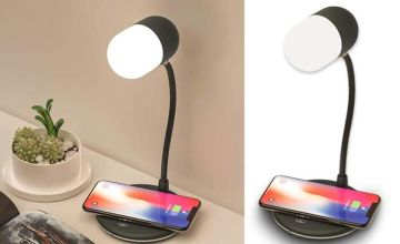 £19.99 instead of £86 (from Magic Trend) for a 3-in-1 smart speaker and wireless charger lamp - save 77%