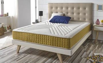 £89 instead of £437.55 (from Matris) for a single luxury memory foam gold-threaded mattress, £129 for a double, £149 for a king - save up to 80%