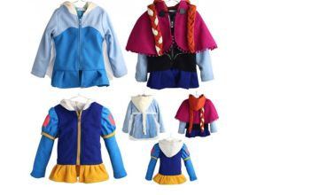 £12.99 instead of £29.99 (from Wow What Who) for a kids princess autumn coat - save 57%