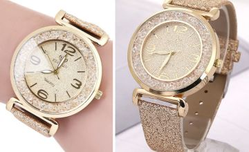 £16 instead of £99.99 (from Taylors) for a ladies sparkle crystal watch - save 84%