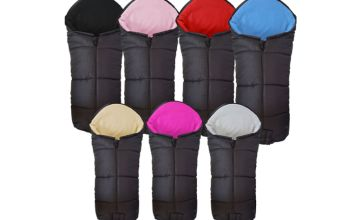 £12.99 (from For Your Little One) for a pushchair footmuff - choose from seven colours!