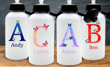 £12 instead of £27 (from WePersonalize) for a personalised water bottle - save 56%