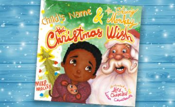 £9.99 (from Personalised Book Shop) for a personalised Christmas book