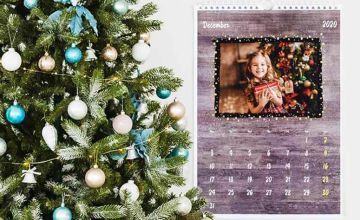 From £5.99 instead of £23.95 (from Colorland) for a personalised 2020 family calendar - save up to 72%