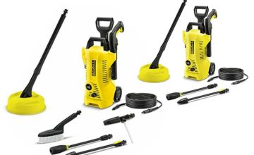 £89.99 for a refurbished Karcher K2 car and home pressure washer or £99.99 for a refurbished Karcher K2 home pressure washer