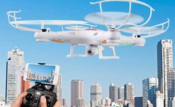 £25.99 instead of £79.99 (from Wow What Who) for a 2.4GHZ gyro RC quadcopter drone - save 68%