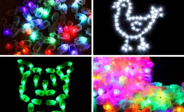 £3.99 (from Wow What Who) for 10 pieces of LED balloon lights or £5.99 for 20 pieces - save up to 80%