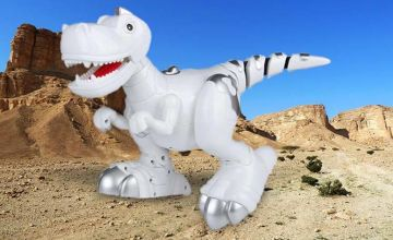 £17 instead of £69.99 (from Wow What Who) for an interactive walking dinosaur robot toy and control remote – save 76%