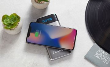 £14.99 instead of £49.95 (from CJ Offers) for a grey 10000mah Zennox wireless power bank, £21.99 for a black 20000mah Zennox wireless power bank - save up to 70%