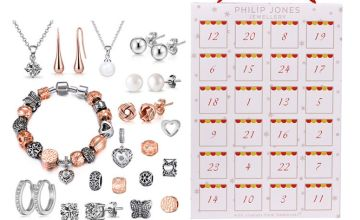 £29.99 instead of £157 (from Philip Jones) for a jewellery advent calendar with crystals from Swarovski ® - save 81%