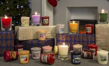 £24.99 instead of £40 for 40 assorted Yankee Candle home inspiration votives including festive fragrances from Yankee Bundles - save 38%