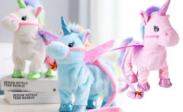 £11.99 instead of £49.99 (from Wow What Who) for a walking unicorn toy - save 76%
