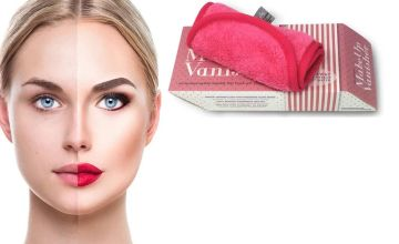 £2.99 instead of £14.99 for a Miss Pouty Hypoallergenic Makeup Vanisher Cloth from Forever Cosmetics - save 80%