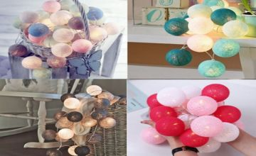 £6.99 instead of £19.99 for Home Decor String Light Balls - 7 Colours to choose from Hey4Beauty - save 65%