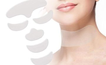 From £8 (from Magic Trend) instead of £47 for a silicone anti-wrinkle face and neck pads - save 83%