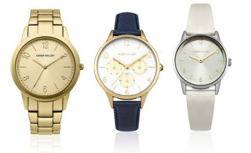 From £19.99 instead of £65.01 (from Brand Arena) for a Karen Millen ladies' watch - save up to 69%