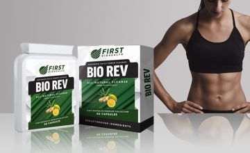 £7.99 (from First BioHealth Supplements) for a one-month supply* of Bio Rev 'detox' capsules, or £14.99 for a three-month supply*!