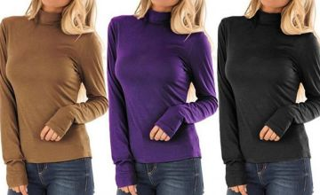 £7.99 instead of £19.99 (from MBLogic) for a long sleeved high neck jumper - Save 60%