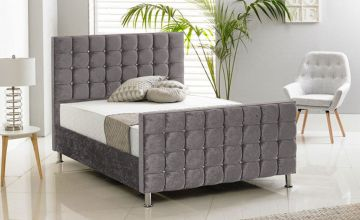 £199 instead of £499 (from Sleep Express) for a crush velvet bed – choose from five sizes, six colours and headboard options and save up to 58%