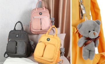 £12.99 instead of £29.99 (from WowWhatWho) for a nylon waterproof cute backpack - save 57%