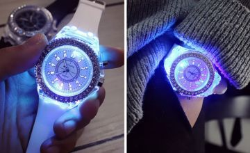 £4.99 instead of £19.99 (from Wow What Who) for a multicolour luminous watch - save 75%