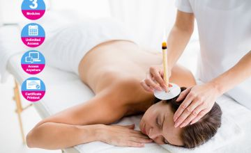 £9 (from Online Beauty Training) for an online thermal auricular ear candling course