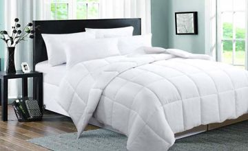£21.99 instead of £54.99 (from Direct Warehouse Ltd) for a single 13.5 tog duck feather and down duvet, £25.99 for a double, £29.99 for a king or £33.99 for a superking - save up to 60%