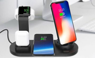£9.99 instead of £59.99 (from Litnfleek) for a three-in-one Apple-compatible charging dock - choose from two colours and save 83%