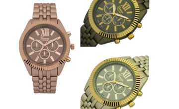 £12.99 for a Geneva deluxe Darcie watch from Solo Act Ltd