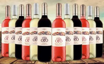 £49.99 (from San Jamon) for a 12-bottle selection of Bierzo Spanish wine - save up to 60%