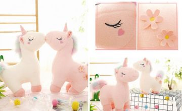 From £8.99 instead of £39.99 (from Wow What Who) for a 30cm dreamy unicorn plush doll - choose your colour and size and save up to 78%