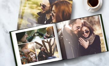 £12.95 instead of £98.95 (from Printerpix) for a 100-page hardcover A4 photobook, £19.95 for a set of two, or £29.95 for a set of three - save up to 87%