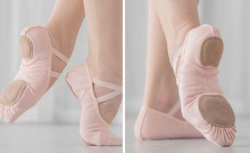 £8.99 instead of £29.99 (from Yellow Goods) for a pair of ballet shoes - save 70%