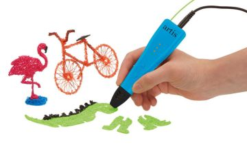 £19.99 instead of £29.99 (from CJ Offers) for an Artis 3D pen set, or £24.99 to include a spare set of filaments - save up to 33%