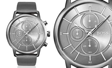 £129 instead of £346 (from Best Watch Company) for a men's Hugo Boss architectural leather watch - save 63%
