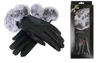 £7.99 instead of £19.99 (from Belle Accessories) for a pair of faux fur gloves with gift box - save 60%