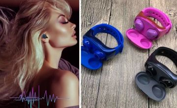 £20.99 instead of £69.99 (from Hey4beauty) for a pair of wireless bluetooth headphones with wrist band case - save 70%