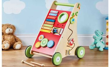 £29.99 instead of £49.99 (from CJ Offers) for a My Play wooden activity walker - save 40%