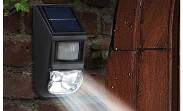 £8.99 instead of £29.99 (from CJ Offers) for a motion sensor wall light, or £16.99 for two lights - save up to 70%