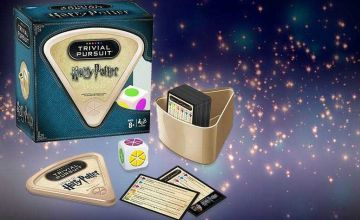 £9.99 instead of £19.99 (from Bubble Bedding) for Harry Potter Trivial Pursuit - show off your wonderful wizarding knowledge and save 50%