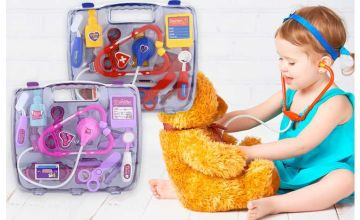 £7.99 instead of £49.99 (from Litnfleek) for a children's play doctors set - choose your colour and save 84%