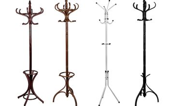 From £9.99 for a classic coat stand -choose from four Collections and six colours from Home Discount - save up to 57%