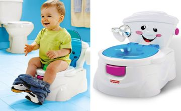 £22 instead of £59.99 (from DealBerry) for a Fisher-Price My Potty Friend kid's toilet training seat - save 63%