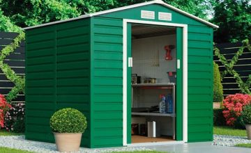 From £270 instead of £519.99 (from CJ Offers) for a heavy-duty reinforced steel garden shed - choose from three sizes and save up to 48%