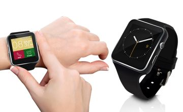 £14 for a 15-in-1 Android and Apple-compatible smart watch - 15 functions including camera control, pedometer, music selection and more!