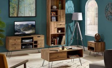 £45 instead of £74.95 (from CJ Offers) for a side table, £85 for a coffee table, £125 for a TV stand and £135 for a bookshelf - save up to 40%