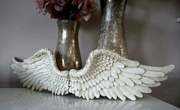 £12.99 (from Garden Mile) for a vintage style angel wings ornament