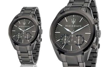 £189 instead of £596 (from Best Watch Company) for a Maserati Traguardo men's watch - save 68%