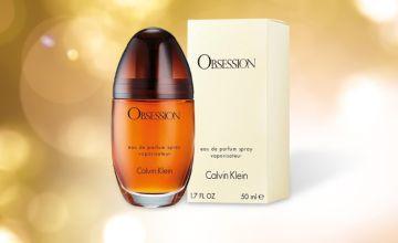 £18.45 instead of £55 for a 50ml bottle of Calvin Klein Obsession eau de parfum - save 66%